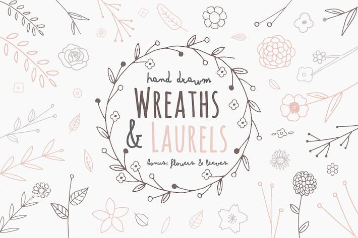 Thumbnail for Wreaths and Laures Illustrations