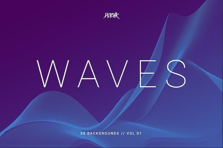 Thumbnail for Waves | Network Lines Backgrounds | Vol. 01