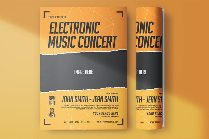 Thumbnail for Electronic Music Flyer