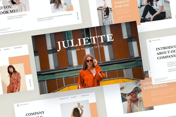 Thumbnail for JULIETTE - Keynote Template