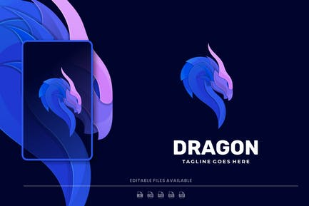 Dragon Colorful Logo