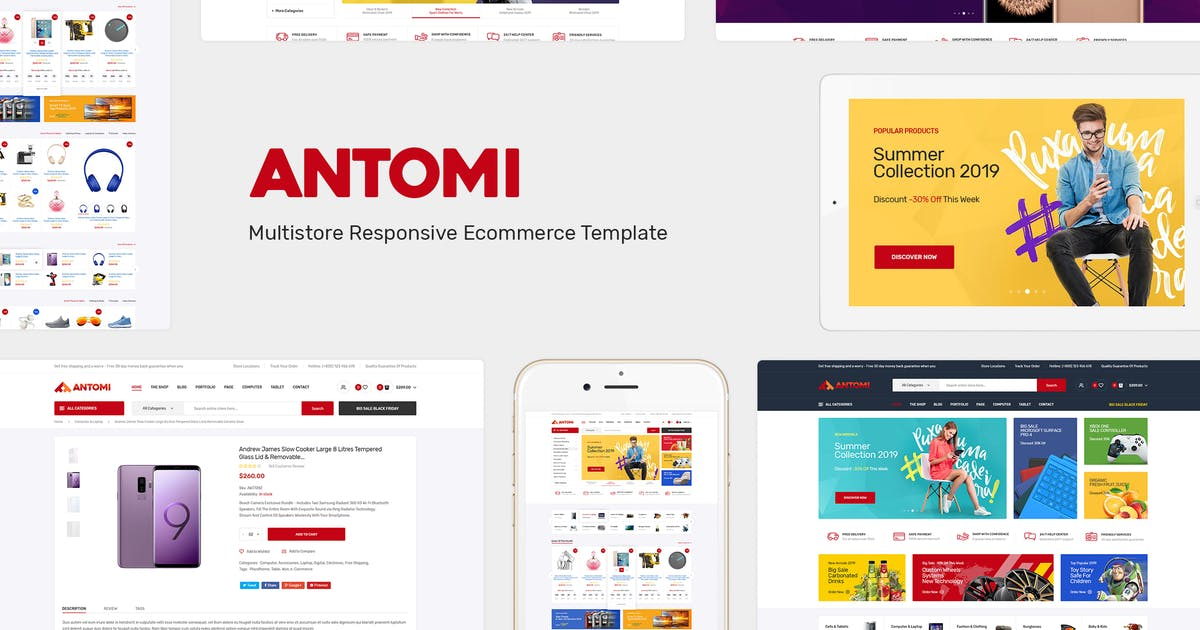 Download Antomi - Multipurpose Responsive Prestashop Theme by Plaza-Themes