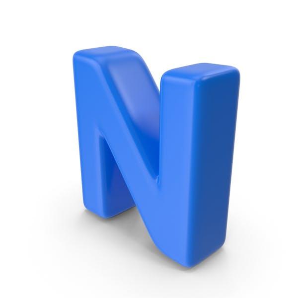 Thumbnail for Blue Letter N