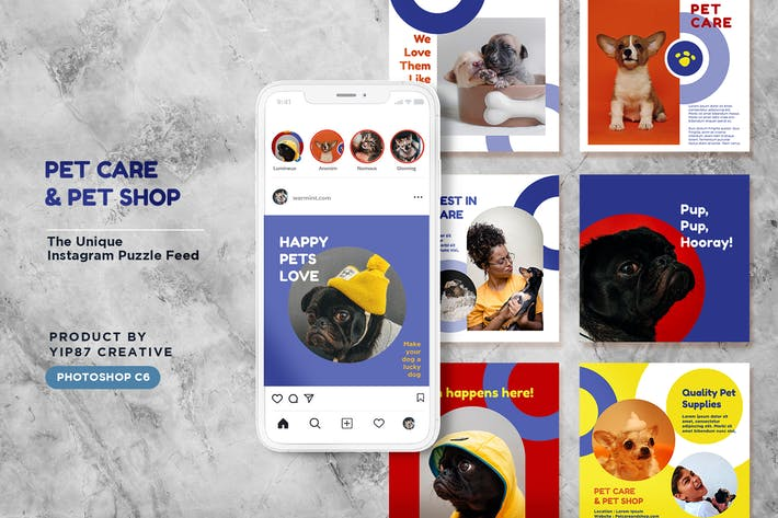 Thumbnail for Pet Care / Shop Instagram Feed