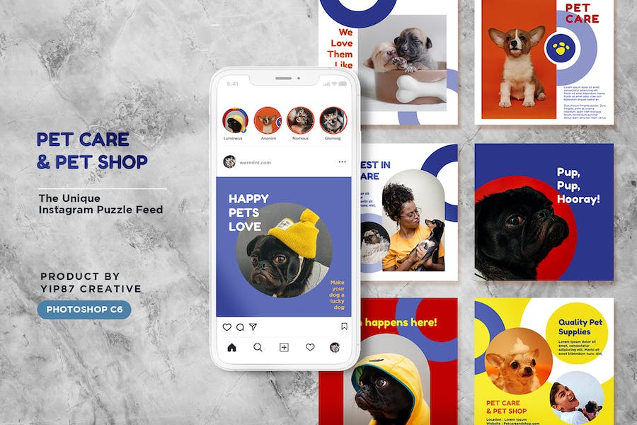 Pet Care / Shop Instagram Feed