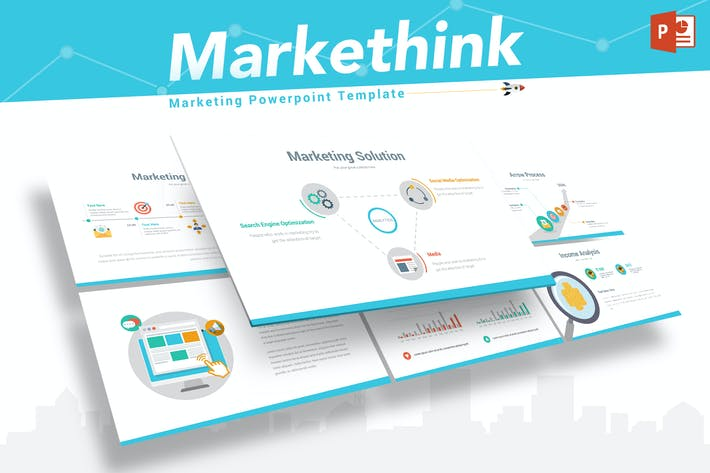 Thumbnail for Markethink - Marketing Powerpoint Template
