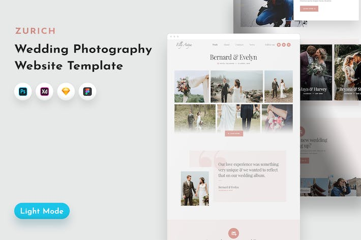 Thumbnail for Zurich Photography Template