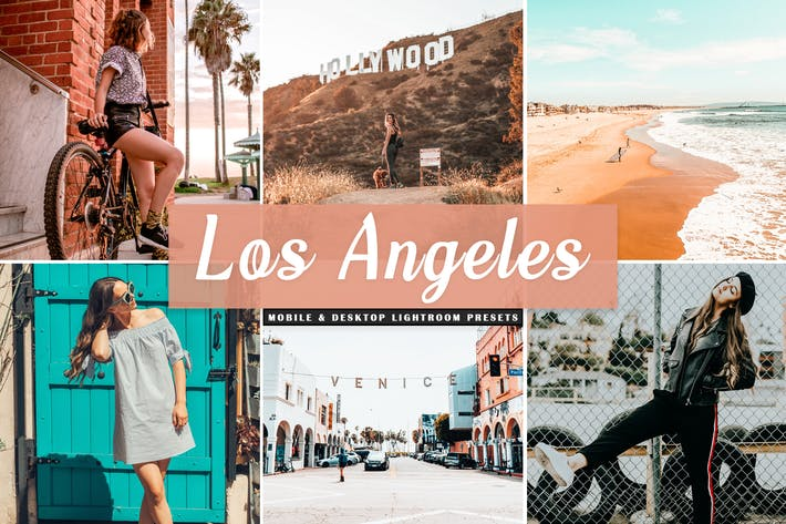Thumbnail for Los Angeles Mobile & Desktop Lightroom Presets