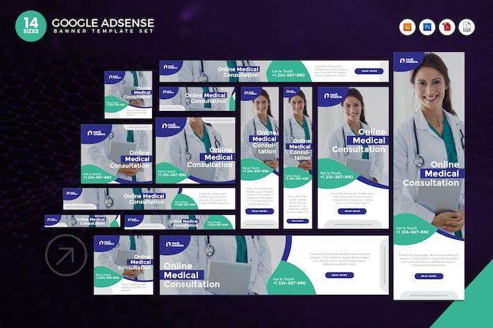 Thumbnail for 14 Online Medical Consultation Adsense Web Banner