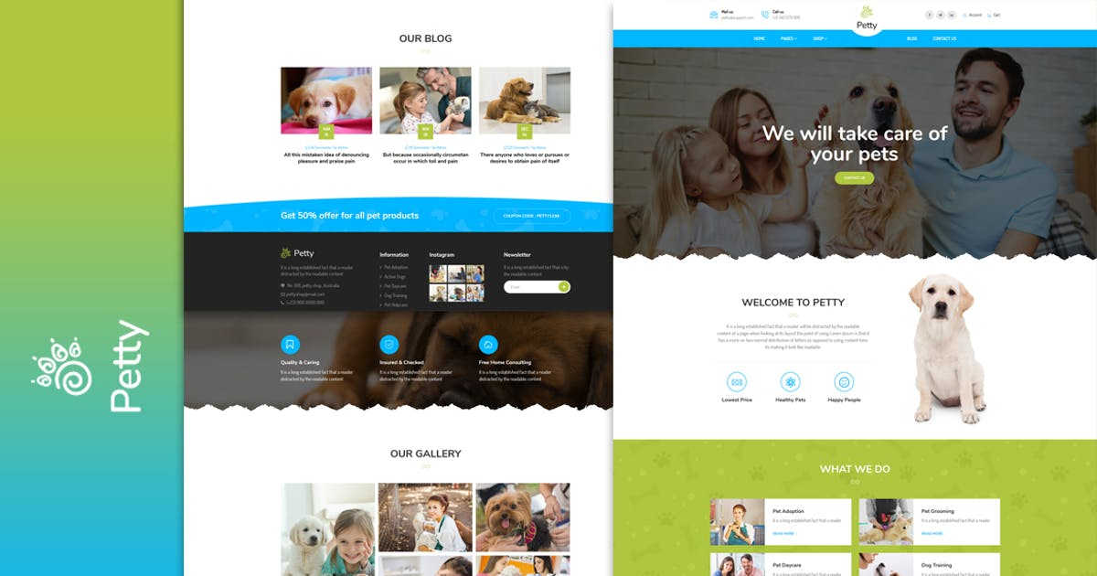 Download Pet Shop - HTML Template by MarkhorThemes