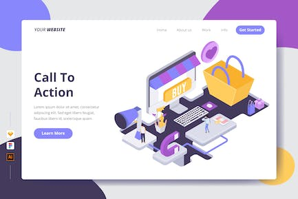 Call To Action - Landing Page