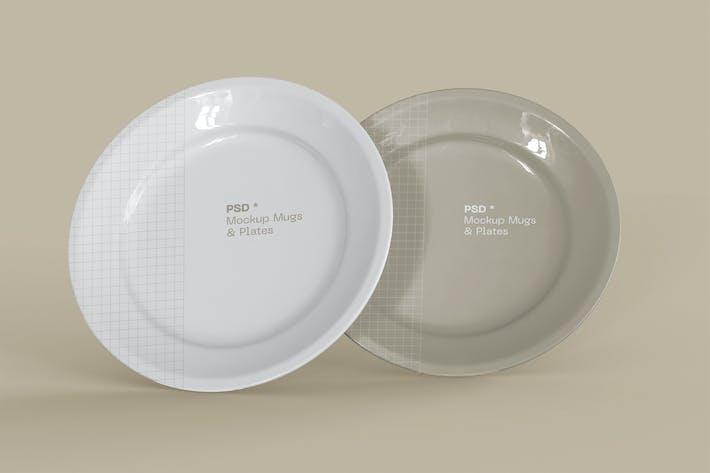 Platten-Mockup