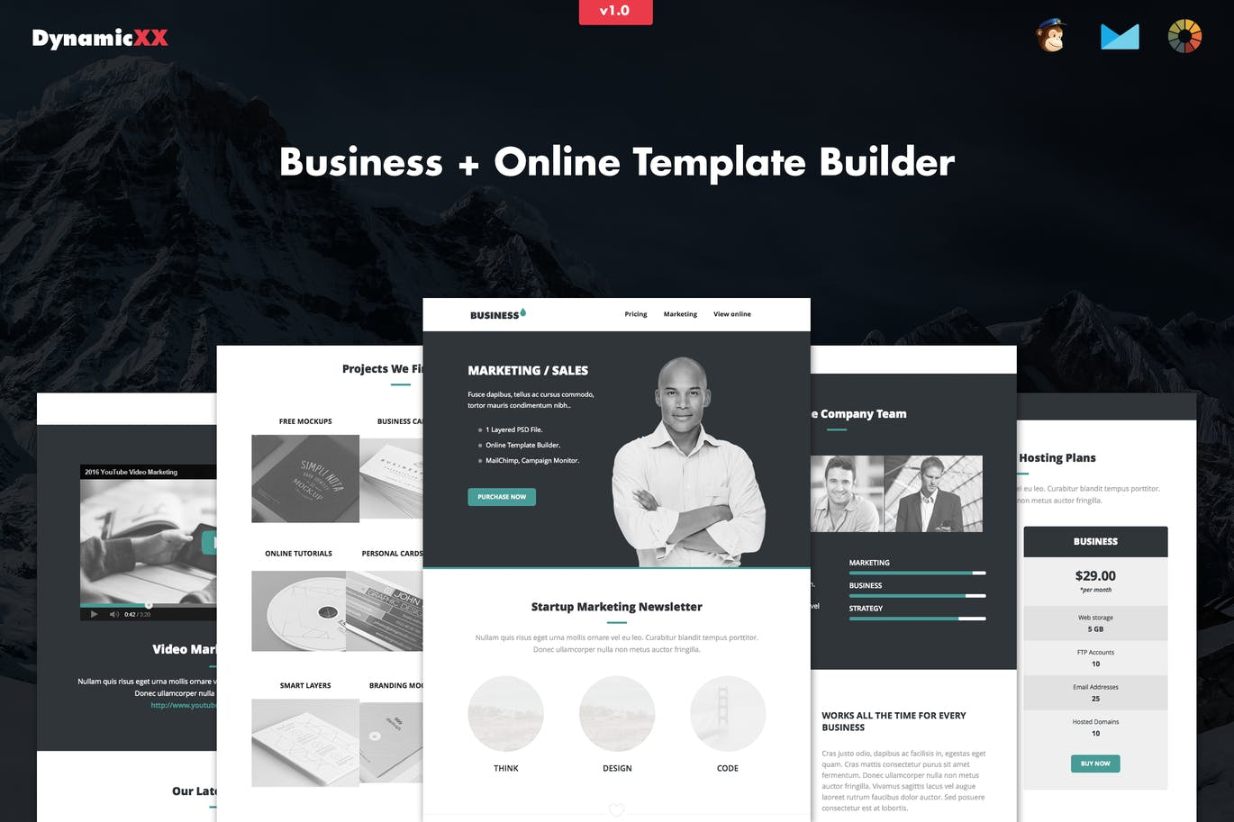 Business - Responsive Corporate Email Template by DynamicXX on ...