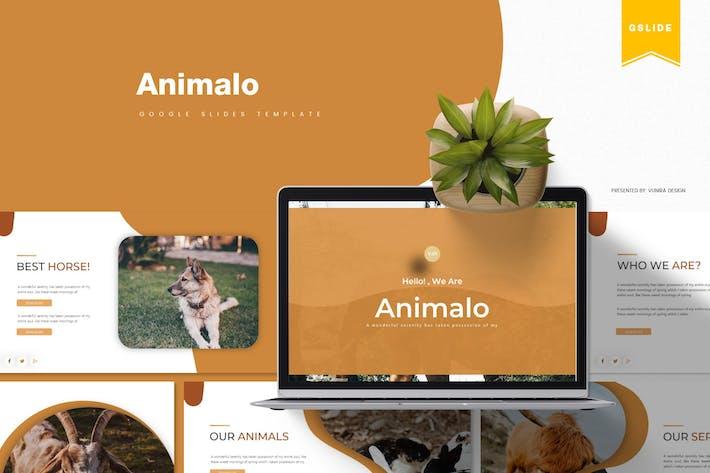 Thumbnail for Анимало | Шаблон слайдов Google