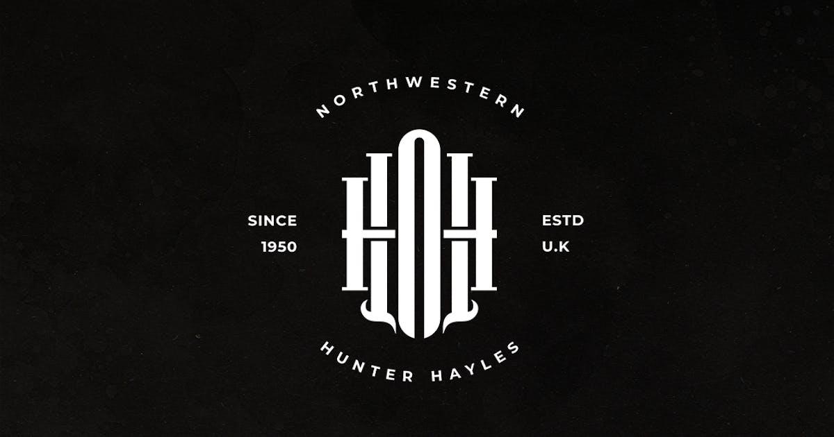 Download HNH Monogram Logo by sagesmask