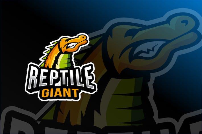 Thumbnail for Reptile Giant Esport Logo Template