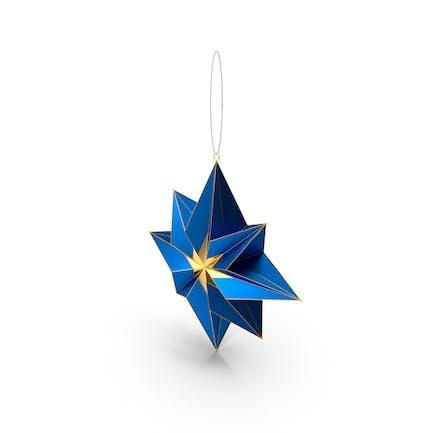 Рождественская игрушка Звезда