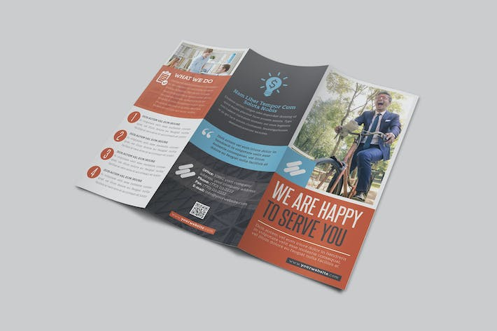 Thumbnail for Multipurpose Business Trifold Vol 5