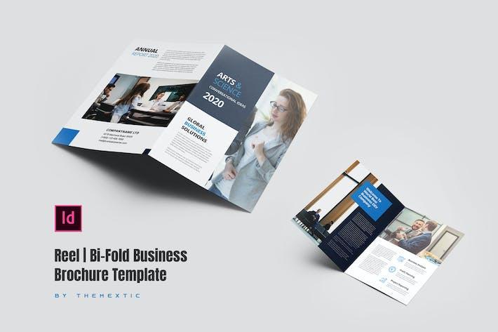 Thumbnail for Reel | Bi-Fold Business Brochure Template