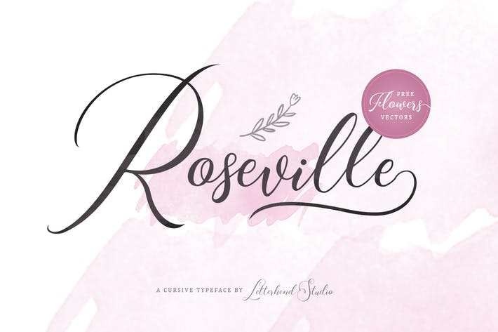 Cover Image For Roseville Script
