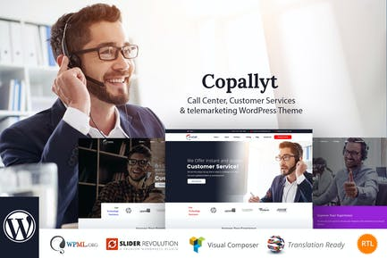 Copallyt - Call Center & Telemarketing WordPress T