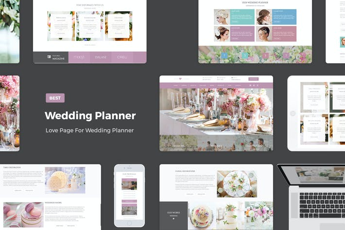 Cover Image For Wedding Planner