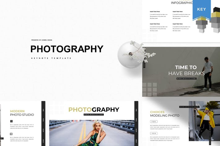 Thumbnail for Photography | Keynote Template
