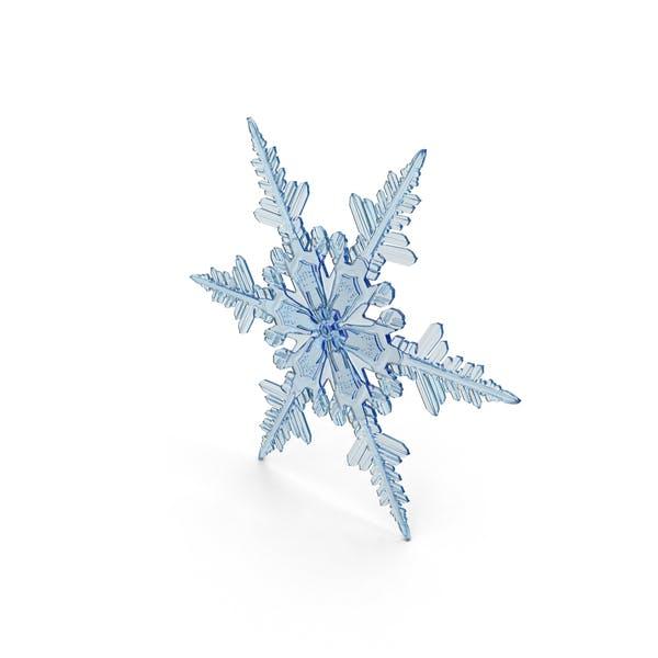 Thumbnail for Deep Blue Snowflake