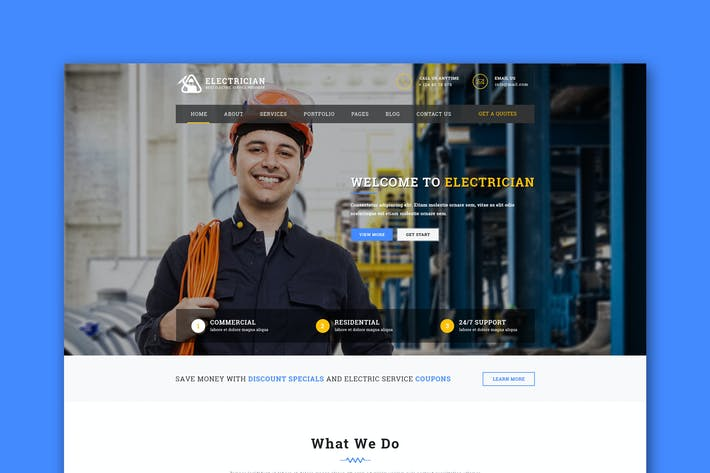 Thumbnail for Handyman - Responsive HTML Template | Business