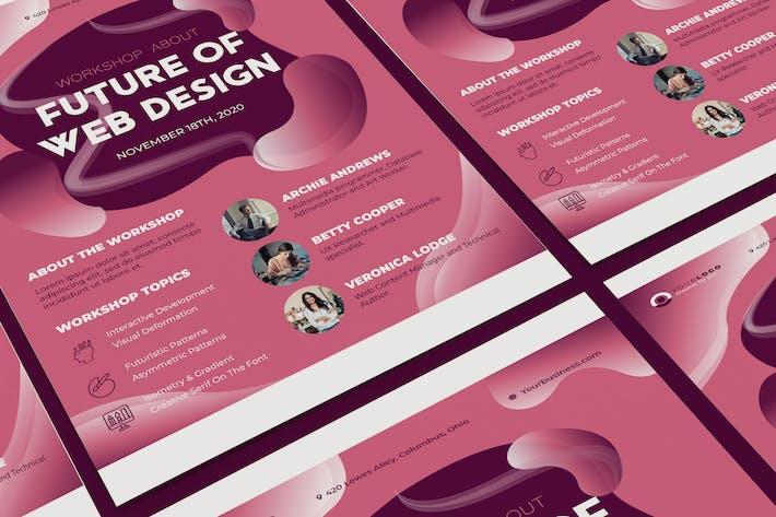 Thumbnail for Workshop Poster Illustrator Template