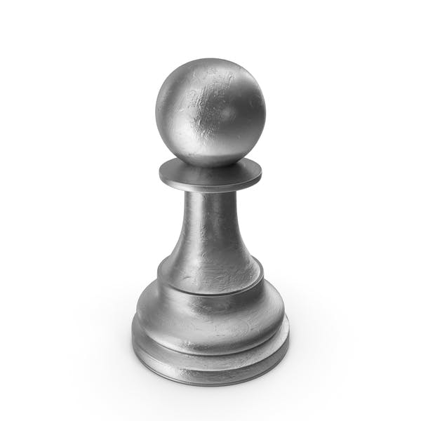 Chess Piece Pawn Silver