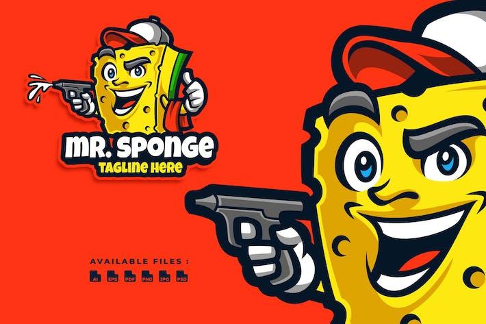 Thumbnail for Logo de dessin animé de M. Sponge