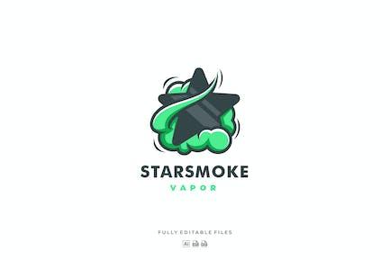 Star with Smoke Color Logo