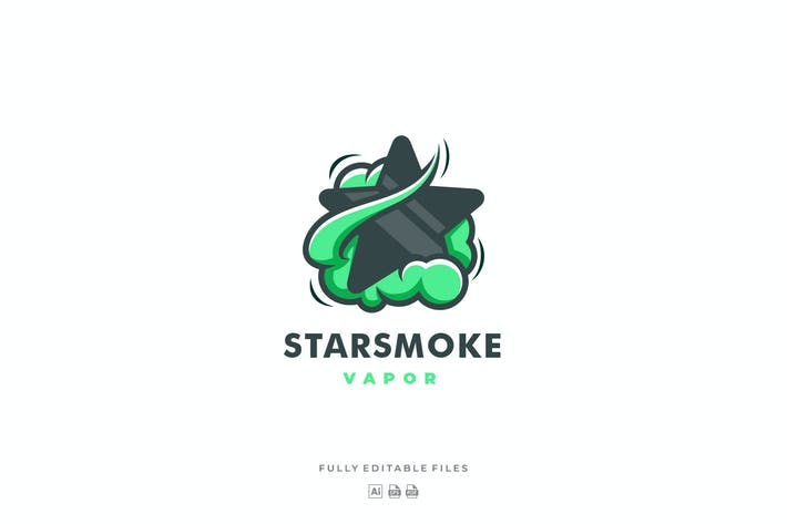 Thumbnail for Star with Smoke Color Logo