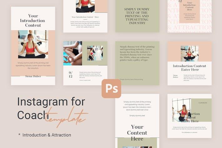 Thumbnail for Einführung - Instagram-Vorlagen für Yoga