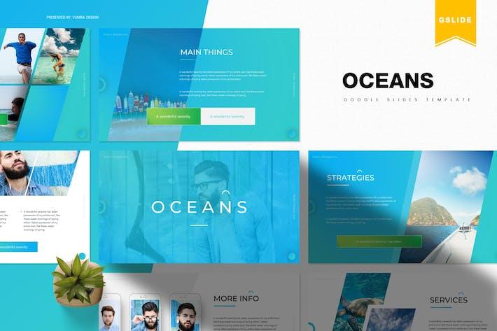 Thumbnail for Oceans | Google Slides Template