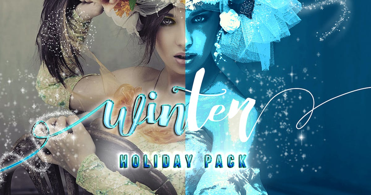 Download Winter Pack Photoshop Action by Voltury