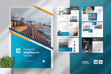 LEXUS Oil & Gas Industry Business Brochures