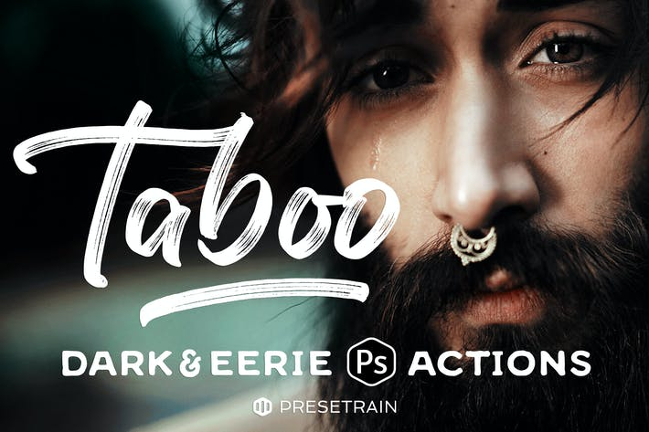 Thumbnail for Taboo Dark Fantasy Photoshop Actions