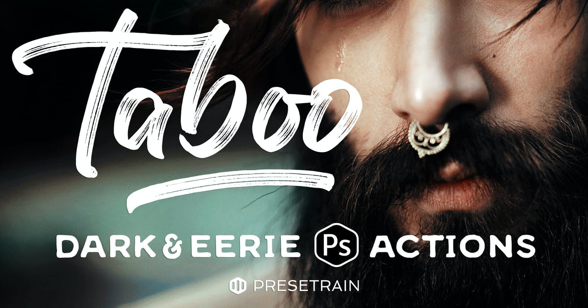 Download Taboo Dark Fantasy Photoshop Actions by Presetrain