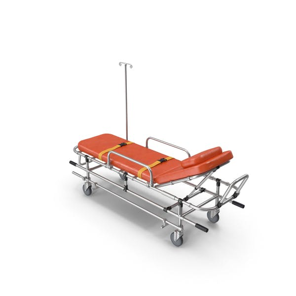 Тележка для носилок скорой помощи