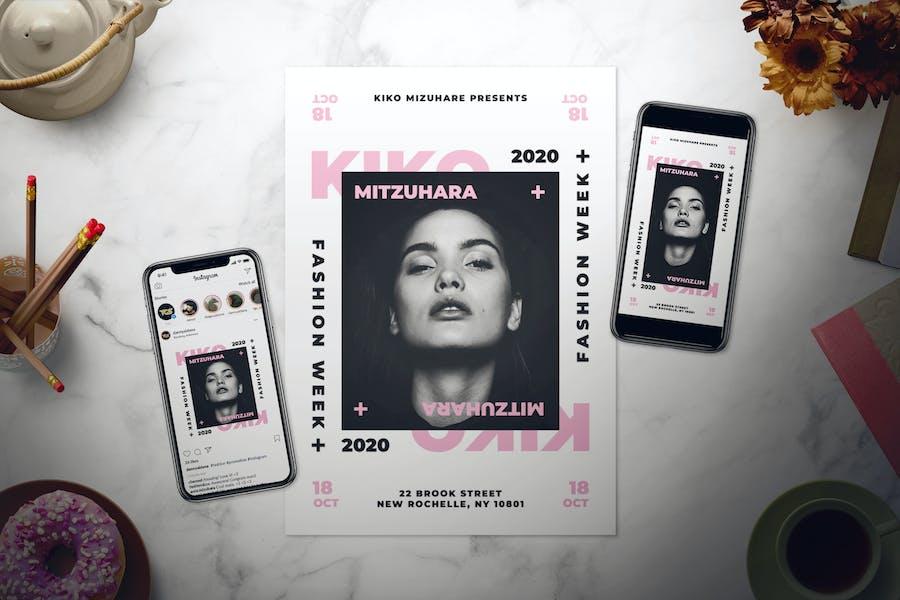 Fashion Flyer Set