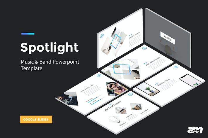 Thumbnail for Spotlight - StartUp Google Slides Template