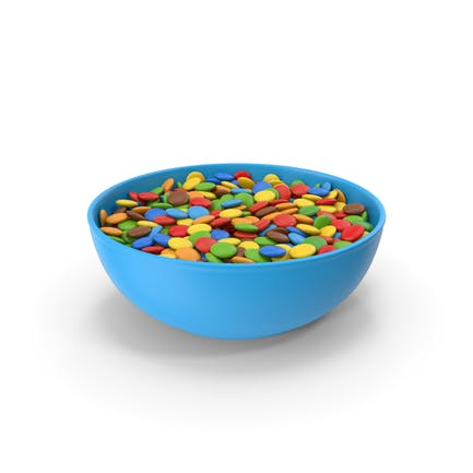 Chocolate Sweets in Bowl