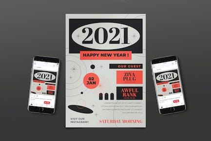 Pack de dépliant Music 2021