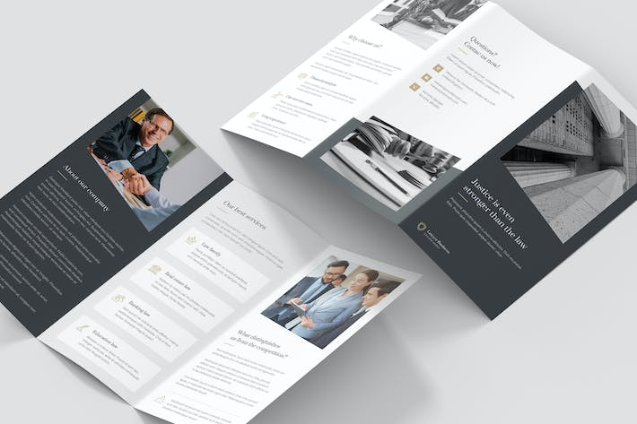 Thumbnail for Brochure – Lawyer Tri-Fold