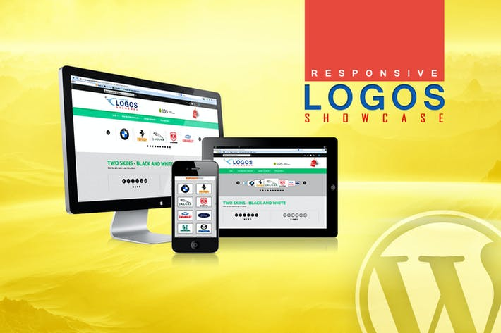 Thumbnail for WordPress Logos Showcase - Grid and Carousel
