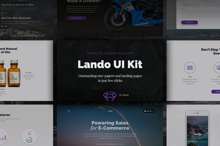 Thumbnail for Lando UI Kit