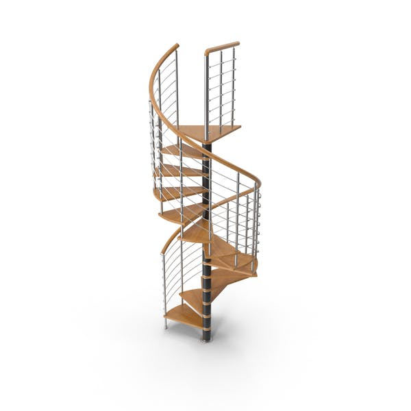 Thumbnail for Spiral Contemporary Stair