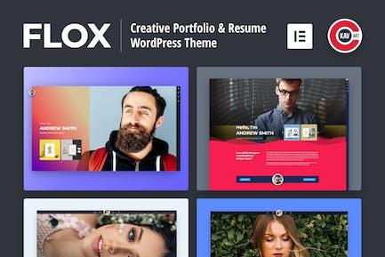 FLOX - Personal Portfolio & Resume WordPress Theme